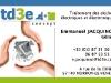 Carte de visites TD3E par www.22h43.fr