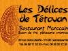 Carte de visites Les Délices de Tétouan par www.22h43.fr
