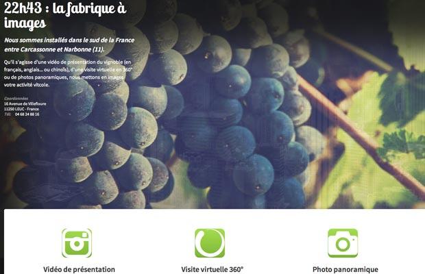 Nos créations vidéo et photo pour les domaines viticoles